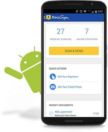 DocuSign Mobile voor Android