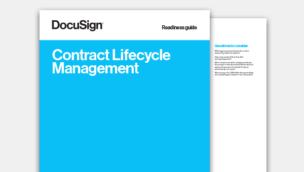 Download de Contract Lifecycle Management Readiness-gids