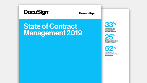 Download het 'State of Contract Management 2019'-rapport
